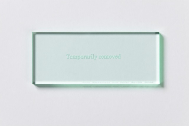 , 'Temporarily Removed,' 2008, Paul Stolper Gallery