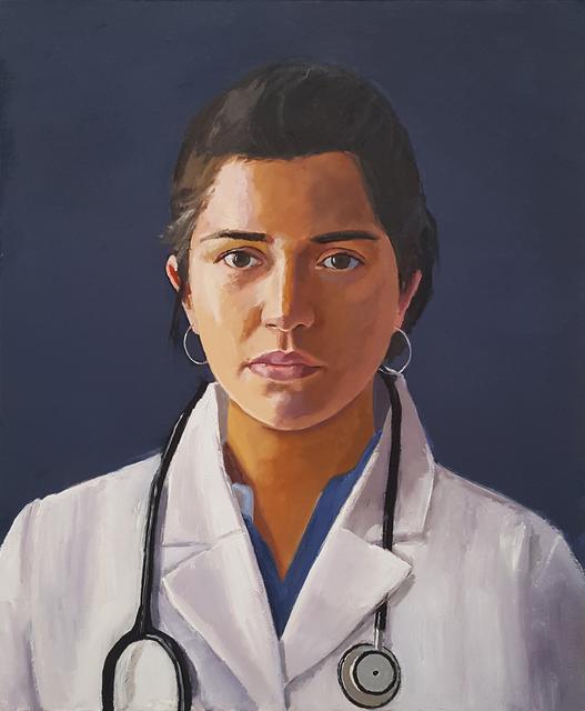 , 'Dr. Aramayo,' 2018, Craig Krull Gallery