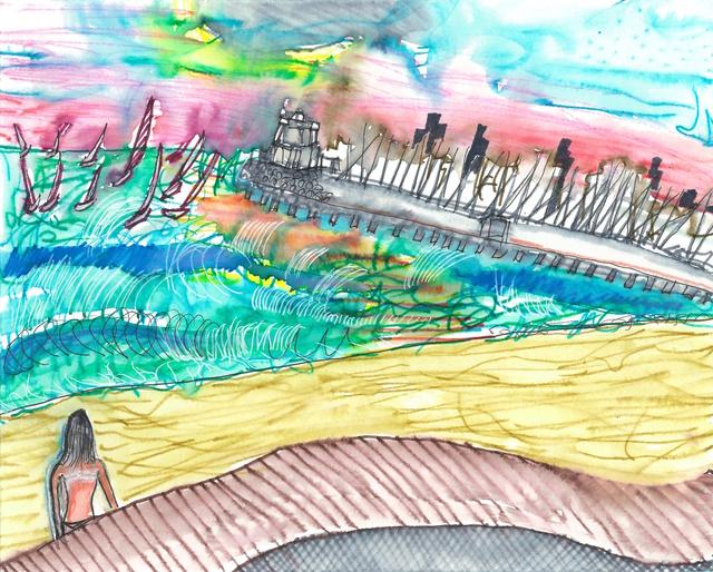 , 'Wild sky at St Kilda,' 2016, Mannerheim Gallery