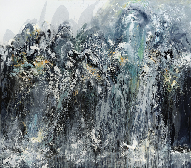 , 'Wall of water V,' 2011, The National Gallery, London