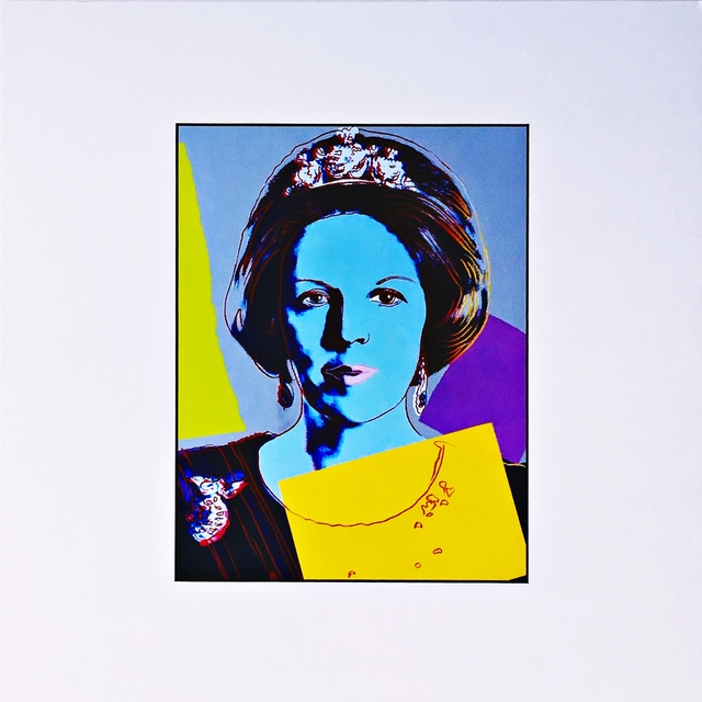 Andy Warhol, 'Queen Beatrix (Königin Beatrix) for Art Basel', ca. 1987, Alpha 137 Gallery