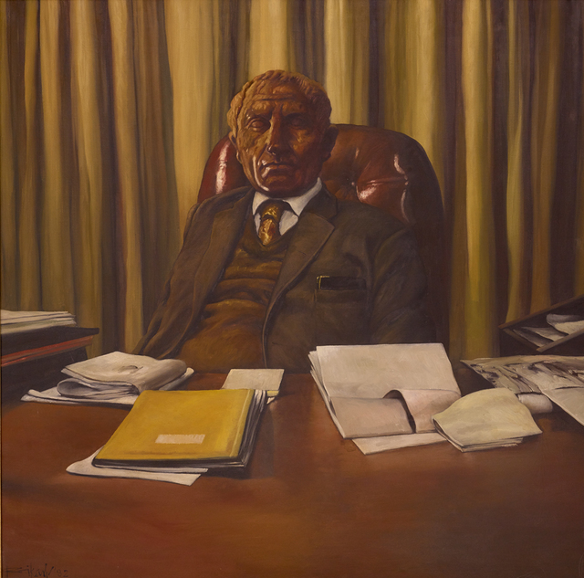, 'In His Office,' 1982, Dag Modern