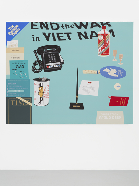 , 'Concerning Vietnam: Oval Office, March 1972,' 2017, Casey Kaplan