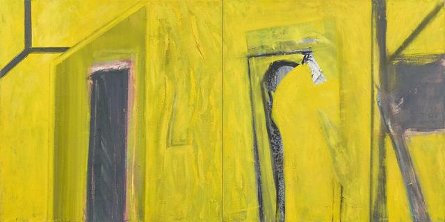 , 'Personaje en el umbral,' 2017, Galería Sextante