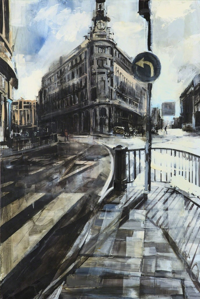Sean Flood, 'Rainy Day in Madrid,' 2012, Childs Gallery