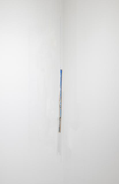 Carlos Bunga, 'Corner. Cocoon #3', 2013, Sculpture, Acrylic and glue on cardboard  with cotton thread, Alexander and Bonin