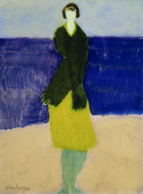 , 'Walker by the Sea,' 1961, American Federation of Arts