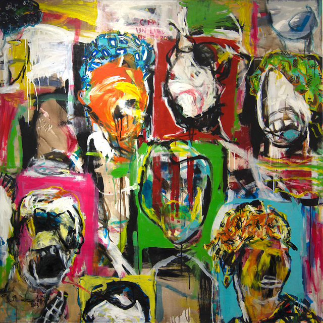 , 'Tribute ,' 2013, AfricArt Gallery Hong Kong