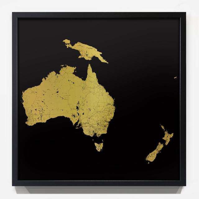 , 'Sacred Continent Australasia ,' 2017, London Contemporary Art / Store Street Gallery