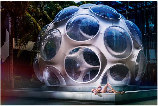 David Drebin, 'Outside The Bubble', Art Angels