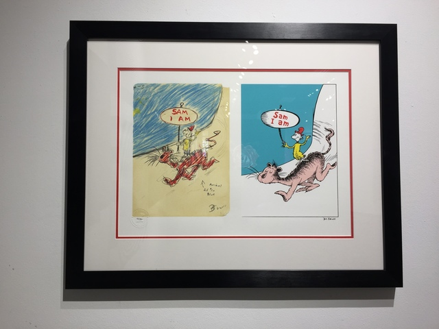 Dr. Seuss, 'Dr. Seuss, Sam I Am Diptych ', Oliver Cole Gallery