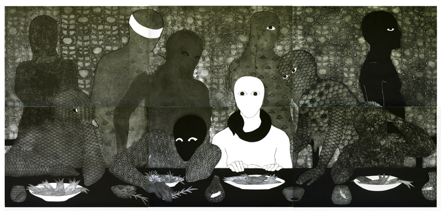 , 'La cena (The Supper),' 1991, Fowler Museum at UCLA