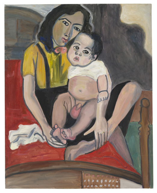 , 'Mother and Child,' ca. 1981, Aurel Scheibler