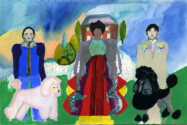 , 'Two Poodles,' 2013, Wilding Cran Gallery
