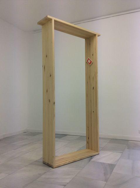 , 'Mezuzah (Díptico/dyptich) Viaje alrededor de una mesa/El desierto entra la ciudad,' 2014, Galería Juana de Aizpuru