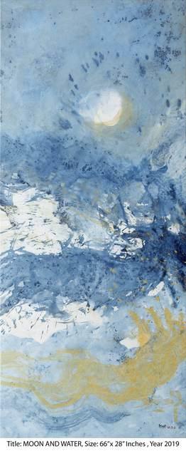 , 'Moon on water ,' 2019, Arushi Arts