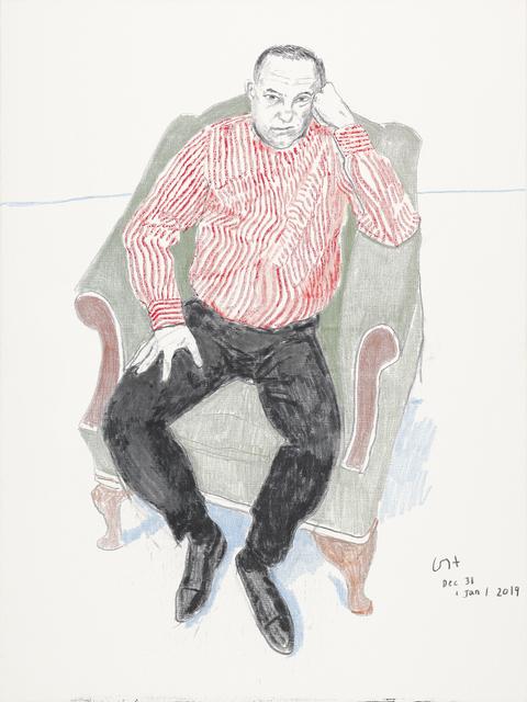 David Hockney, 'Charlie Scheips', 2018-2019, Annely Juda Fine Art