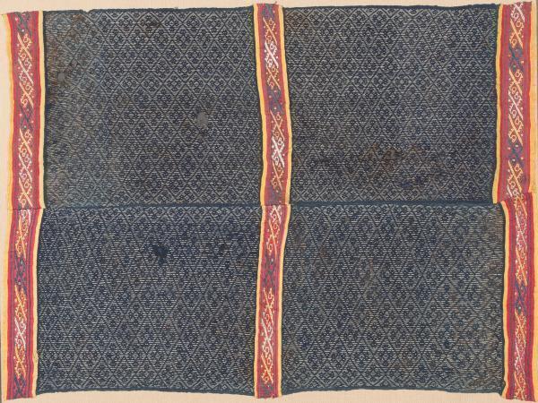 , 'Indigo Poncho,' 1100-1470, Muzeion Gallery