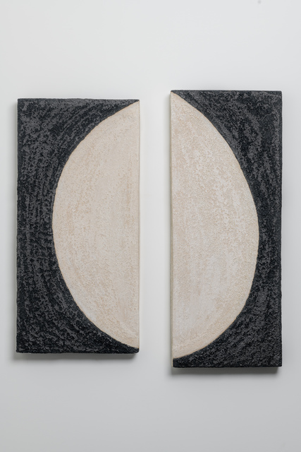 Shizue Imai, 'Black & White Half Moon Diptych', METHOD & CONCEPT