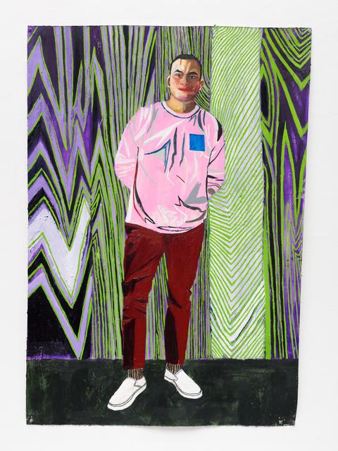 , 'Edgar, 2017 oil on paper 129,5 x 91,4 cm / 51 x 36 in,' 2007, Buchmann Galerie