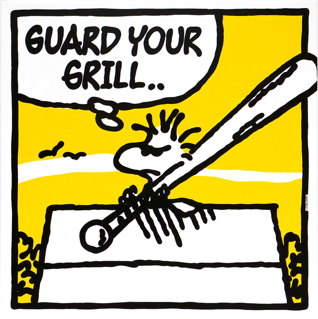 , 'Guard Your Grill (Naughty By Nature),' 2018, Spoke Art