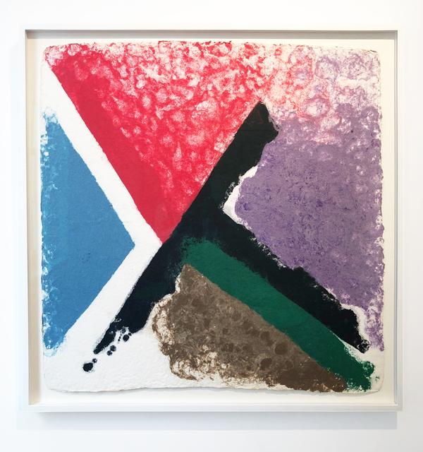 Friedel Dzubas, 'untitled', 1982, Leslie Feely