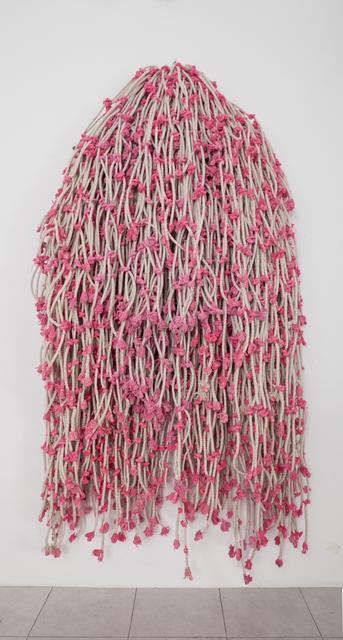 , 'Pink Knots,' 2015, Gallery Isabelle van den Eynde