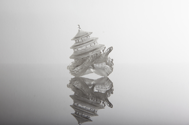 """Aki Inomata, 'Why Not Hand Over a """"Shelter"""" to Hermit Crabs? The Temple of Heaven, Beijing', 2014, Sculpture, Resin, 3D printing, Japan Society Benefit Auction"""