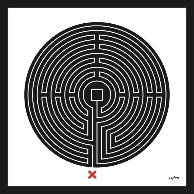 , 'Labyrinth #142 Bank,' 2013, Galerie Krinzinger