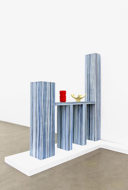 , 'Room Divider & 2 Prague Objects,' 2015, Galerie Meyer Kainer