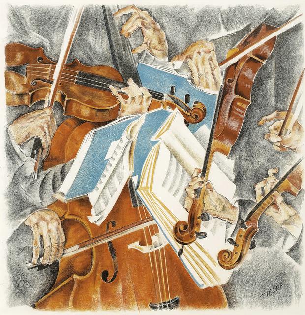 , 'Rose Quartett,' ca. 1920, Galerie Kovacek & Zetter