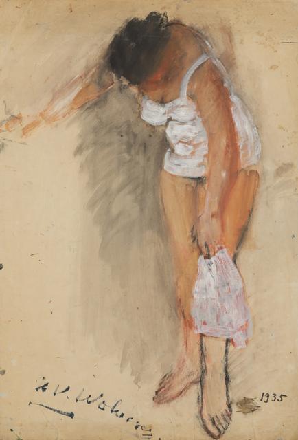 , 'Femme à sa toilette,' 1935, Musée d'Ixelles
