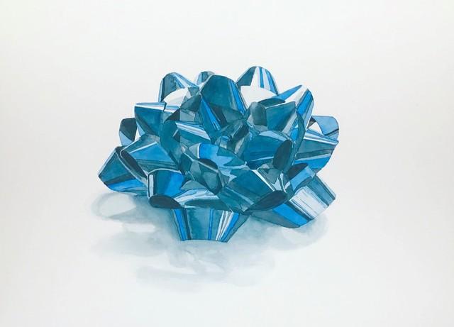 Joshua Huyser, 'Blue Bow', 2018, Burnet Fine Art & Advisory