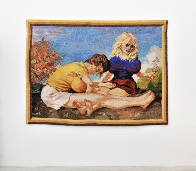 , 'Tapestry (Dogwood),' 2010, Almine Rech Gallery