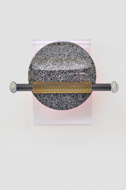 , 'Enlarged chip implant (ancient recordings) No 1,' 2018, Kadel Willborn