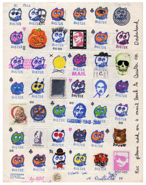 , 'Untitled (Buster Stamps),' 1984, Pavel Zoubok Gallery