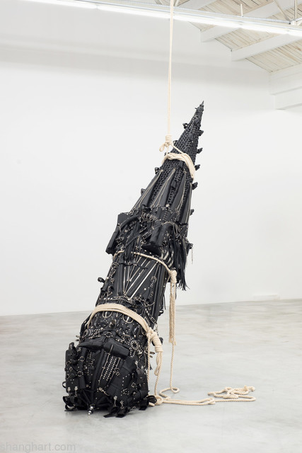Xu Zhen 徐震, 'Play - Missile of Love', 2013, Installation, Genuine and artificial leather, BDSM accessories, foam, metal, wood, ropes, ShanghART
