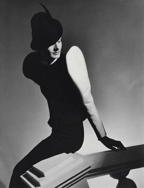 , 'White Sleeve: Clothing and hat by Robert Piguet, Paris,' 1936, Staley-Wise Gallery