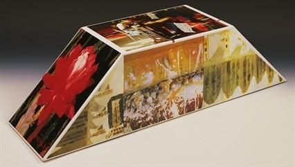 Robert Rauschenberg, 'Tibetan Keys (Double Bevel)', 1987, Hamilton-Selway Fine Art