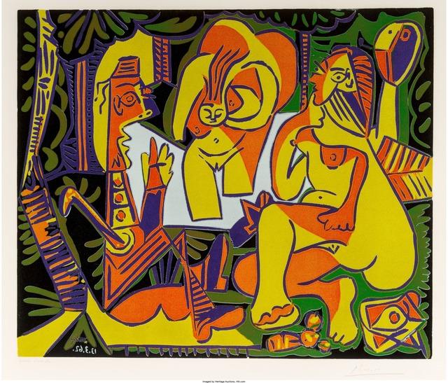 Pablo Picasso, 'Déjeuner sur l'herbe', 1962, Heritage Auctions