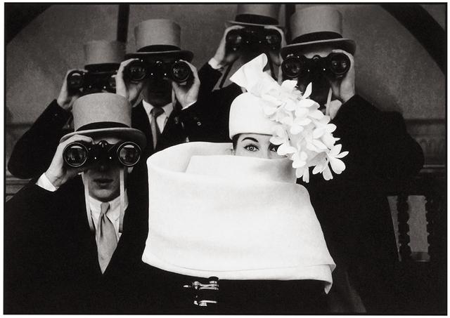 Frank Horvat, 'Paris, for Jardin des Modes, Givenchy Hat B ', 1962, Photography, Platinum  print on Aquarell paper, °CLAIRbyKahn Galerie