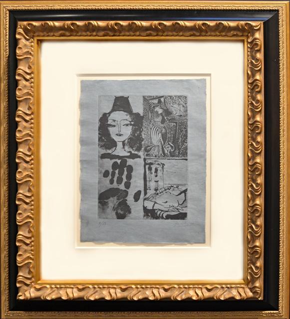 Pablo Picasso, 'Quatre Sujets Pour La Barre D' Appui (Bloch 295a) ', 1936, Off The Wall Gallery