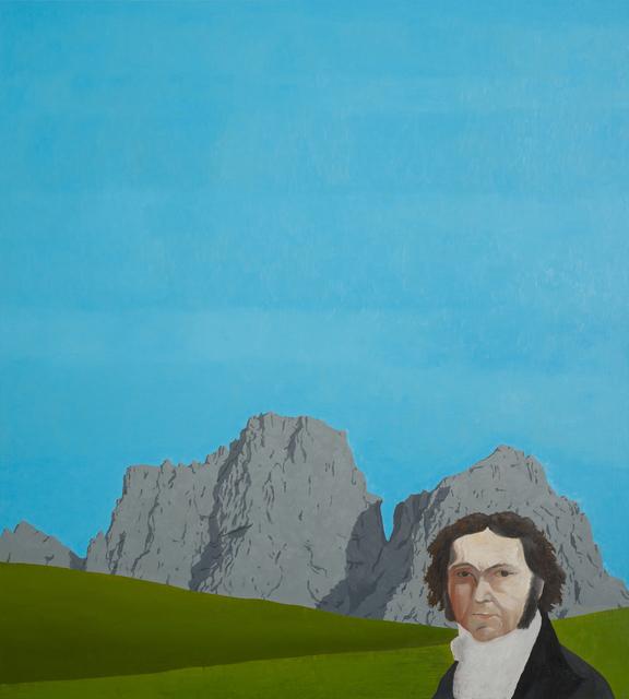 , 'Francisco de Goya & Dolomiten,' 2018, GOLESTANI