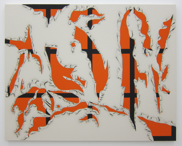 , 'Gratuitous Flashe,' 2015, Cooper Cole Gallery