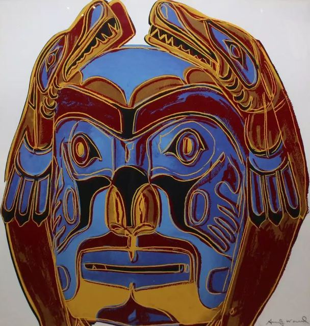 Andy Warhol, 'Northwest Coast Mask', 1986, DANE FINE ART