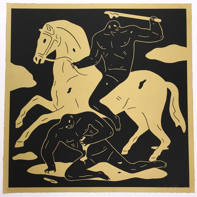 Cleon Peterson, 'Nightcrawler Gold/black', 2015, Galerie Brugier-Rigail
