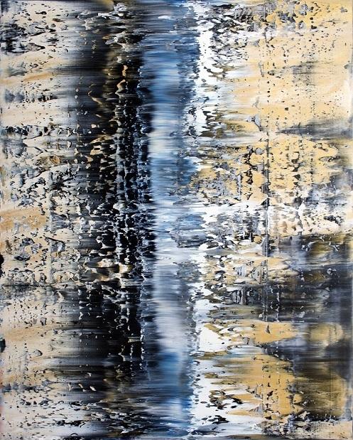 , 'Black Sands,' 2018, SOL Art Gallery