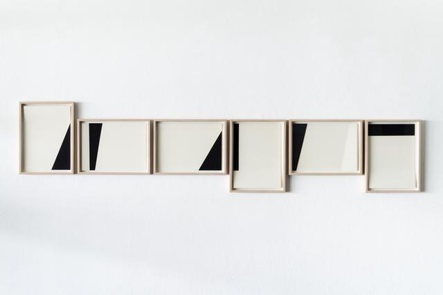 , 'White and black compositions no. 03,' 2016, Casa Triângulo