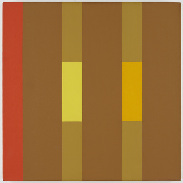 , '3x3 (yellow, ochre, red),' , David Richard Gallery