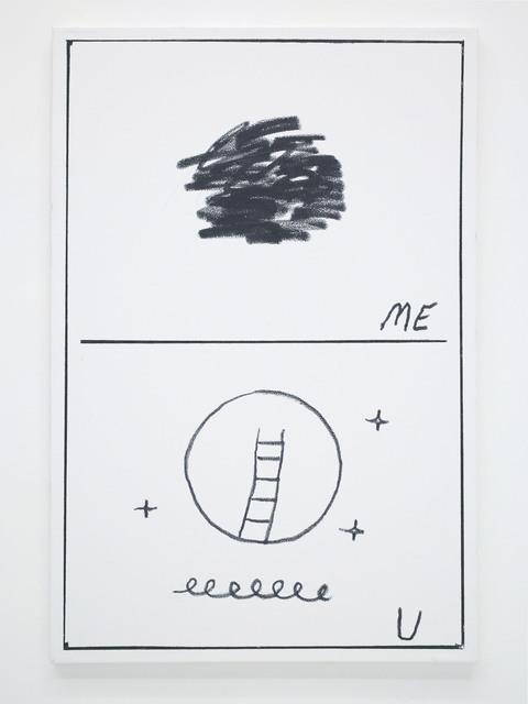 , 'Ben Jones Comics Panel #35 (Me U),' 2016, The Hole